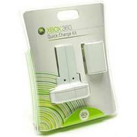 Quick Charge Kit XBOX 360, зарядное устройство и аккумулятор Xbox360 (оригинал)