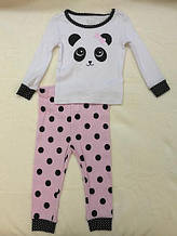Пижама для девочек The Childrens Place (США) 3-6М, 9-12М