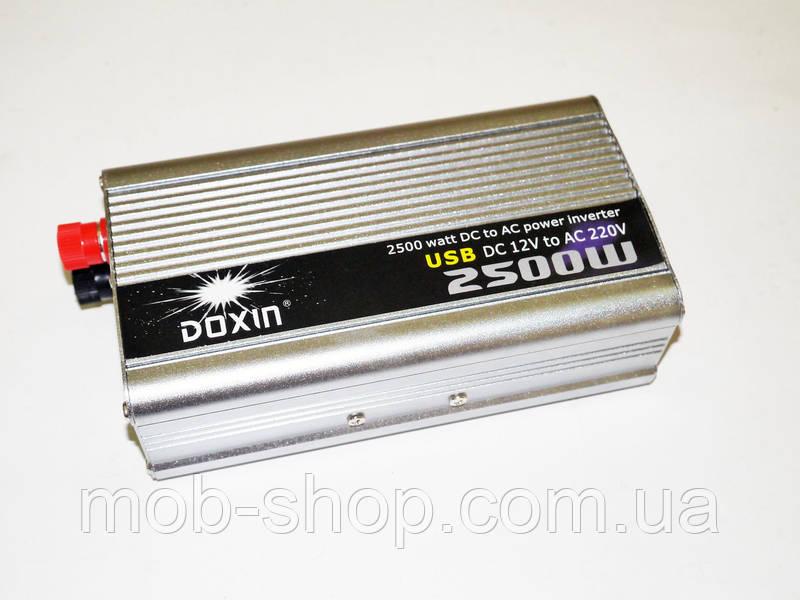 Инвертор преобразователь напряжения Power Inverter 2500W 12V