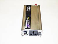 Инвертор преобразователь напряжения Power Inverter 2500W 12V, фото 2