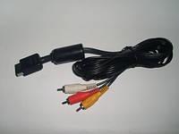 AV кабель для Sony Playstation 1,AV Cable PS1