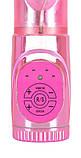Вибратор с ротацией Розовый Кролик, фото 5