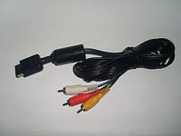 AV кабель для Sony Playstation 2,AV Cable PS2