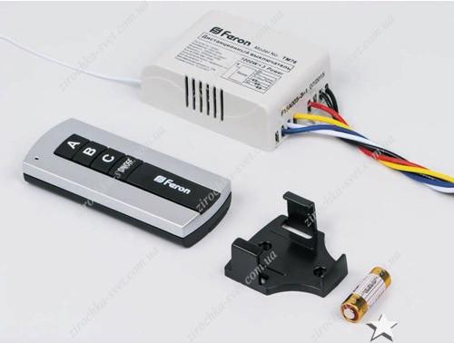 дистанционный выключатель света 3 канала FERON TM76