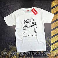 Футболка Supreme Teddy Bear. Реальные фотки. Все размеры Качество