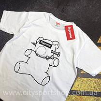 Футболка Supreme Teddy Bear. Реальные фотки. Все размеры Качество, фото 2