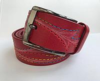 Женский кожаный ремень ручная работа Cinturify под джинсы, длина 105-125 см. Ширина 3.7см.