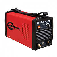 """Сварочный инвертор для аргоно-дуговой сварки 230 В, 4.5 кВт, 10-200 А """"Intertool DT-4220"""""""