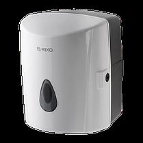 Диспенсер рулонных бумажных полотенец с центральной вытяжкой Rixo Maggio P020W белый пластиковый подвесной, фото 2