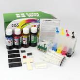 СНПЧ ColorWay для Epson TX200/209/400/409 с чернилами (4Х50)