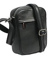 Кожаная мужская сумка Always Wild 8021 NDM черная