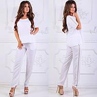 Очаровательный белый костюм, фото 1