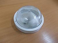 Светильник НПП2602А белый/круг без решетки пластик 60Вт, фото 1