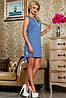 Летнее платье без рукавов с удлиненной спинкой (2254-2661-2660 svt), фото 4