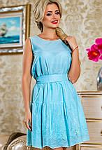 Жіноче натуральне літнє плаття з батіста (2261-2263-2259 svt), фото 2