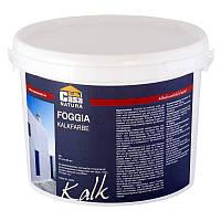 Натуральная  известковая краска FOGGIA, белая  1 л