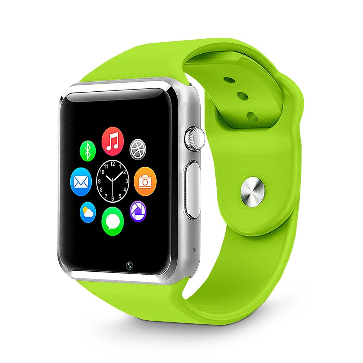 Часы Smart Watch Phone A1 Green (13728)