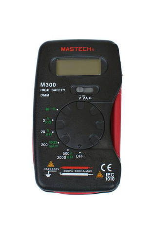 Мультиметр универсальный MASTECH M300, фото 2