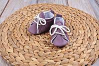 Пинетки хлопковые, фиолетовые, фото 1