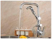 Смеситель для кухонной мойки с лейкой 1-078, фото 1
