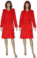 NEW! Яркие и эффектные женские махровые халаты Rouzi Red ТМ УКРТРИКОТАЖ!