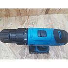 Шуруповерт акумуляторний KRAISSMANN 1300 ABS 12/2 LI. Шуруповерт Крайсман 2 акумулятора, фото 4