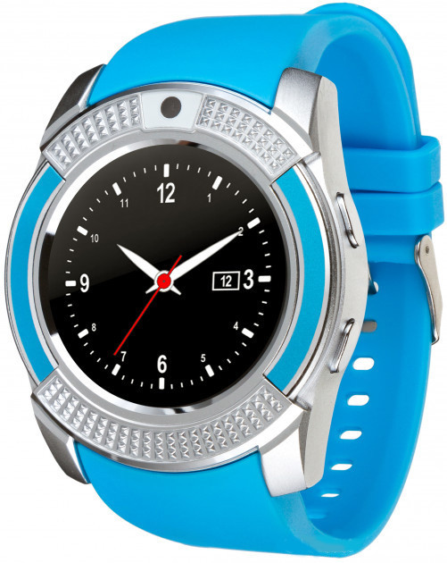 Часы Smart Watch Phone V8 Blue (13624)