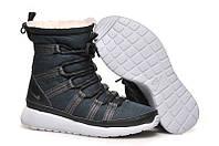 Зимние женские кроссовки NIKE ROSHE RUN HI N-30123-83, фото 1