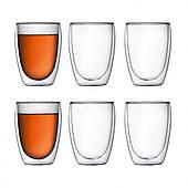 Набор высоких стаканов Bodum Pavina 6 шт x 350 мл (4559-10-12)