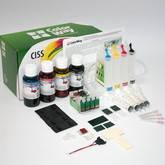 СНПЧ ColorWay для Epson WF2510 с чернилами (4x100мл)