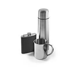 Набор подарочный (термос 0,5л + термокружка + фляга) V4561-32-AXL