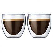 Набор низких стаканов Bodum Pavina 2 шт x 250 мл (4558-10)