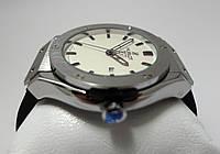 Яркие часы HUBLOT - geneve silver, серебристые с белым циферблатом, фото 1