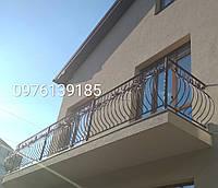 Перила кованые, балконные ограждения 197, фото 1