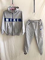 """Спортивный костюм детский""""Nike"""" для мальчиков от 2до 6лет, серый с синим"""