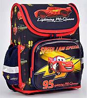 Ранец каркасный + пенал Тачки, Маквин 1, 2, 3 класс. Для мальчиков. Рюкзак, портфель школьный, ортопедический