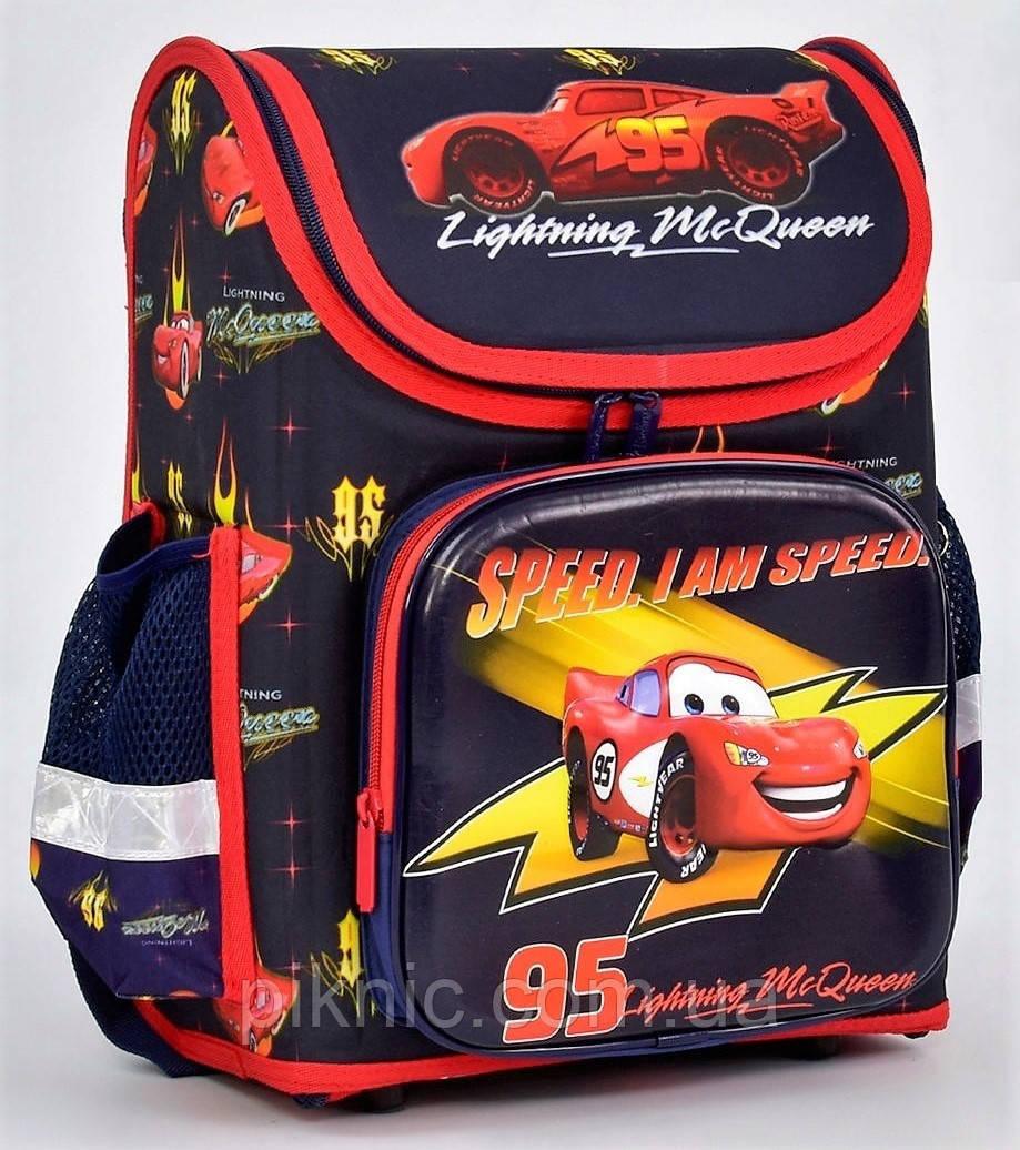 1c406ec2d122 Рюкзак, портфель школьный, ортопедический. Ранец каркасный + пенал Тачки,  Маквин 1, 2, 3 класс. Для мальчиков