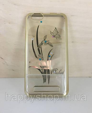 Силиконовый чехол Beckberg для Meizu M5s (Orchid), фото 2