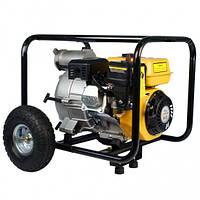 Мощная мотопомпа высокого давления для сильнозагрязненной воды, канализации FORTE FPTW30, Помпа грязевая