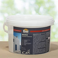 Натуральна вапняно - казеїнова фарба MASSA, біла 1 кг