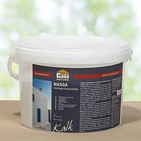 Натуральная  известково - казеиновая краска MASSA, белая  1 кг