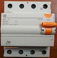 УЗО 4 полюса 63А 30мА Устройство защитного отключения Domus General Electric