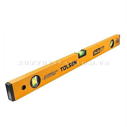 Уровень 150 см 3 капсулы (алюминиевая рамка 1 мм) «Tolsen», фото 2