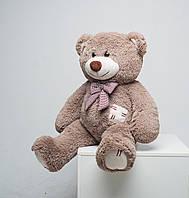 М'який плюшевий ведмедик із латками 100 см, фото 1
