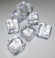 Кубик искусственного льда 2,5*2,5 см, прозрачный