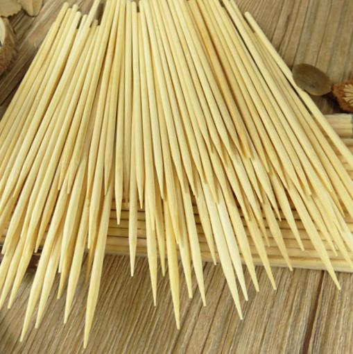 Бамбуковые шпажки-шампуры 30 см*4 мм