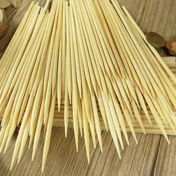 Бамбукові шпажки-шампури 30 см*4 мм