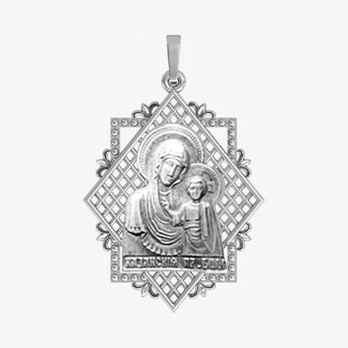 Ладанка серебряная Богородица ЛП-11