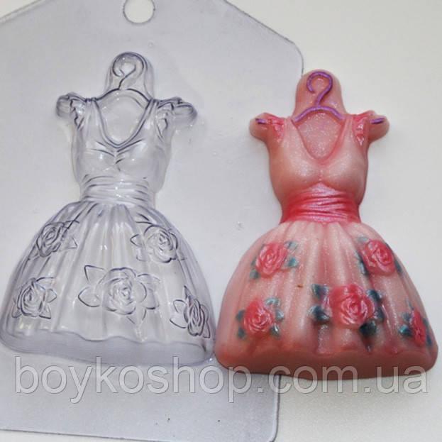 Форма пластиковая Платье