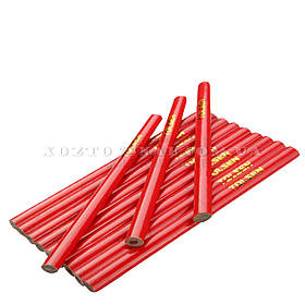 Комплект плотницких карандашей 180 мм овальные 12 шт «Tolsen»